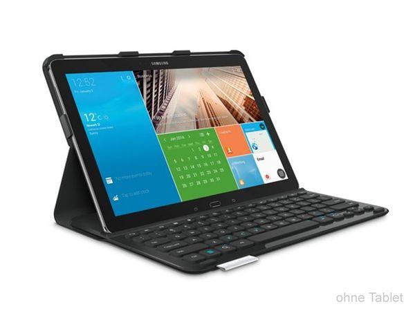 Bluetooth Tastatur LOGITECH Keyboard Case für Samsung Galaxy NotePro 12.2 - Produktbild 1