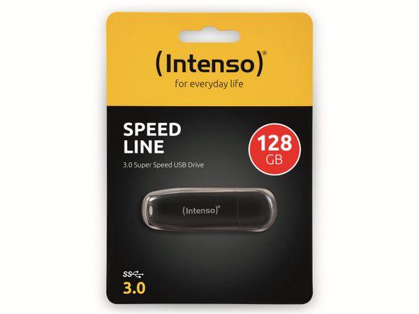 USB 3.0 Speicherstick INTENSO Speed Line, 128 GB - Produktbild 2