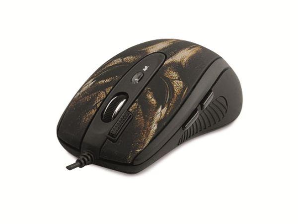 Gaming-Maus A4TECH A4-XL-750BH, USB, schwarz