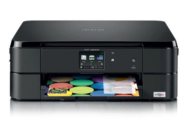 Multifunktions-Tintenstrahldrucker BROTHER DCP-J562DW, schwarz - Produktbild 1