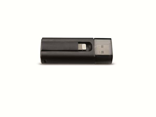 USB 3.0 Speicherstick INTENSO iMobile Line, 32 GB, schwarz - Produktbild 1