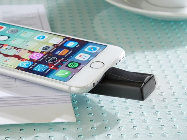 USB 3.0 Speicherstick INTENSO iMobile Line, 64 GB, schwarz - Produktbild 3