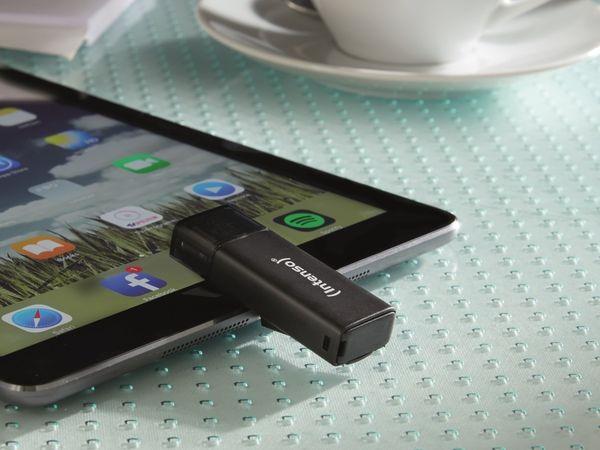 USB 3.0 Speicherstick INTENSO iMobile Line, 64 GB, schwarz - Produktbild 4