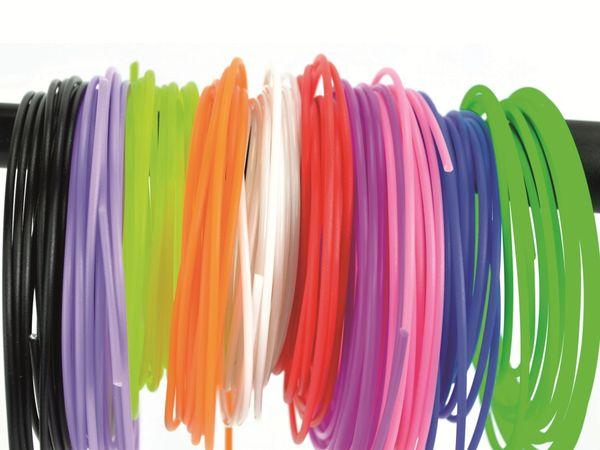 3D-Drucker Stift PLA Filament X4-TOOL, 10 Farben, je 3 m