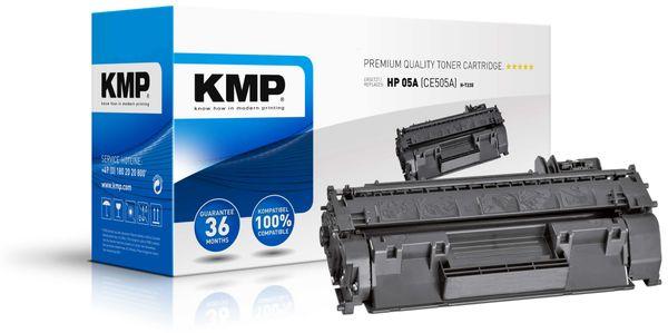 Toner KMP, kompatibel für HP 05A (CE505A), schwarz