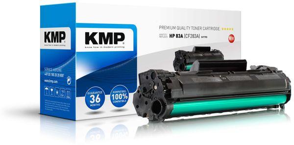 Toner KMP, kompatibel für HP 83A (CF283A), schwarz