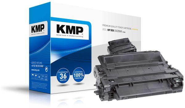 Toner KMP, kompatibel für HP CE255X, schwarz