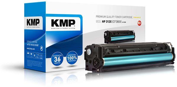 Toner KMP, kompatibel für HP CF380X, schwarz