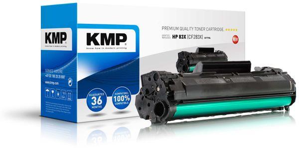 Toner KMP, kompatibel für HP CF283X, schwarz
