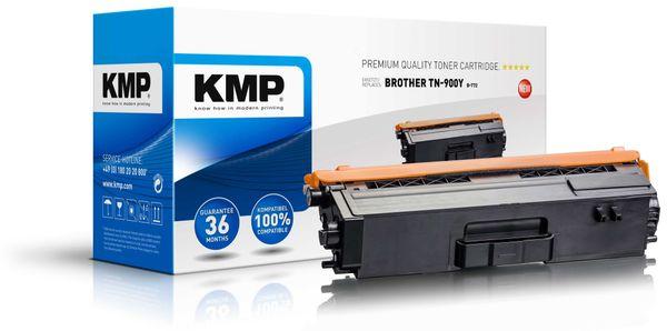 Toner KMP B-T72, kompatibel für TN900Y, gelb