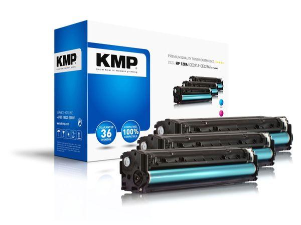 Toner KMP H-T144, kompatibel für HP 128A, Multipack