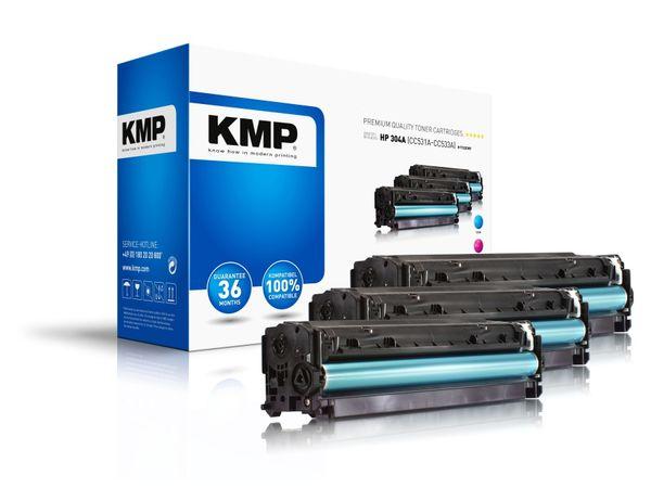 Toner KMP H-T122, kompatibel für HP 304A, Multipack