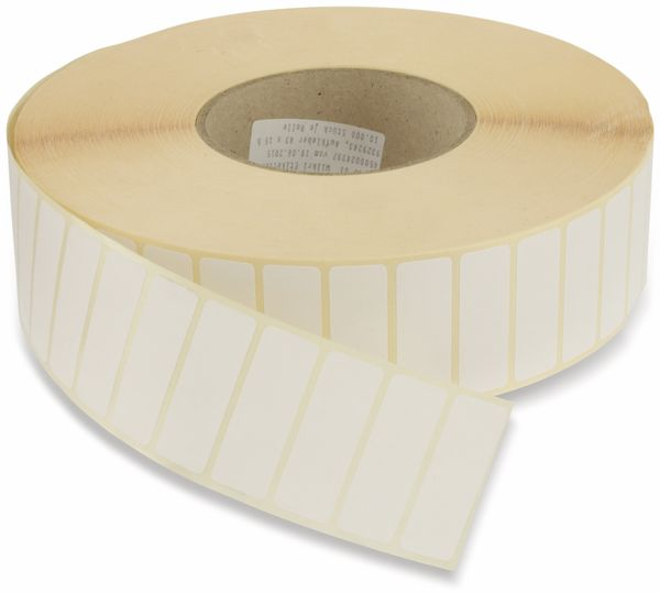 Etikettenrolle, 43x15mm, 10000 Stück - Produktbild 1