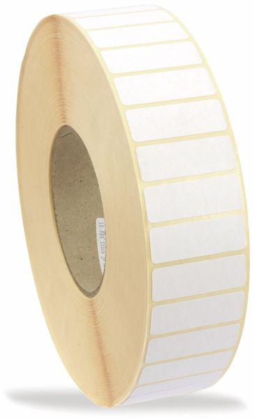 Etikettenrolle, 43x15mm, 10000 Stück - Produktbild 2