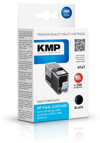 Tintenpatrone KMP, kompatibel zu HP 934XL (C2P23AE)