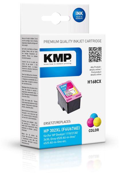 Tintenpatrone KMP, kompatibel zu HP 302XL (F6U68AE)