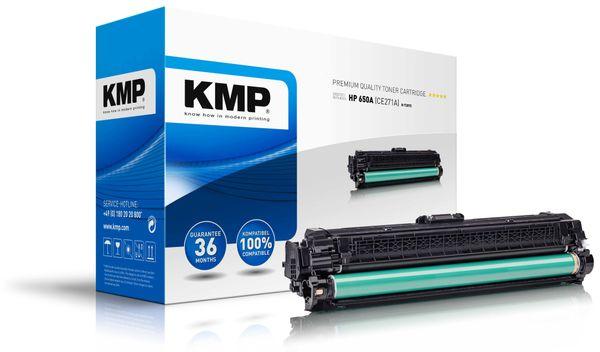 Toner KMP H-T207C, kompatibel zu HP 650A (CE271A)