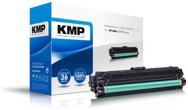 Toner KMP H-T207Y, kompatibel zu HP 650A (CE272A)