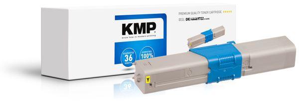 Toner KMP O-T49YX, kompatibel für OKI 44469722, gelb