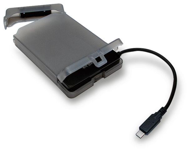 """USB-C 3.1 Gen1 auf 2,5"""" S-ATA Adapter mit Schutztülle Logilink - Produktbild 2"""