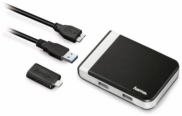 USB3.1-HUB HAMA 54546, integrierter Kartenleser - Produktbild 3