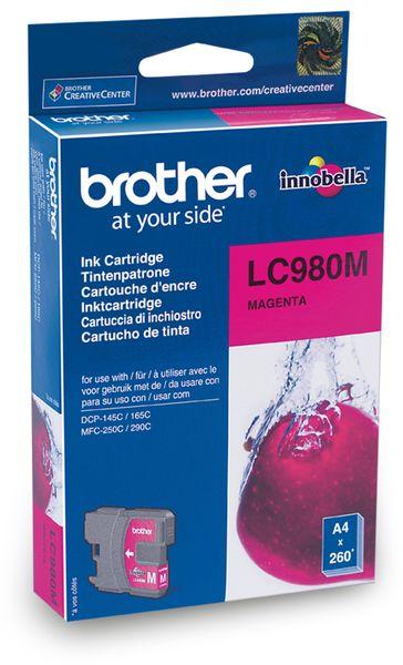 Tintenpatrone BROTHER LC-980M, magenta