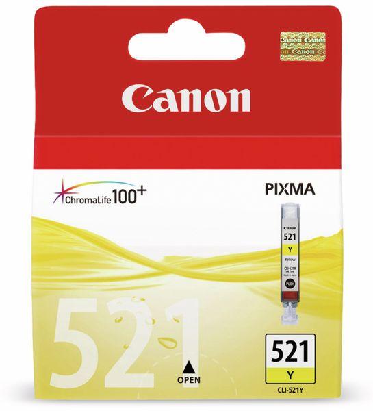 Tintenapatrone CANON CLI-521Y, gelb