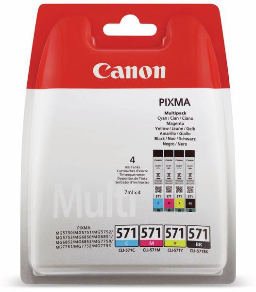 Tinten-Multiset CANON CLI-571BK/571C/571M/571Y