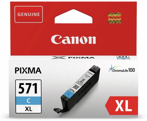 Tintenpatrone CANON CLI-571C XL, cyan