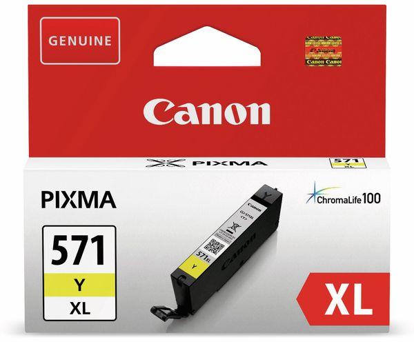 Tintenpatrone CANON CLI-571Y, gelb