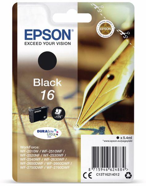 Tintenpatrone EPSON 16, schwarz