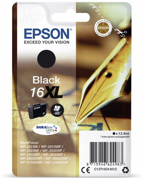 Tintenpatrone EPSON 16 XL, schwarz