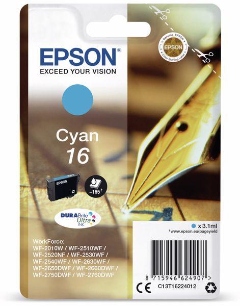 Tintenpatrone EPSON 16, cyan