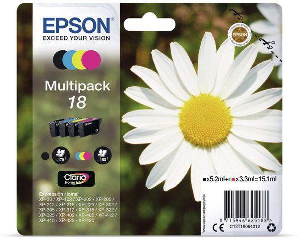 Tinten-Multiset EPSON 18 (4er-Set)