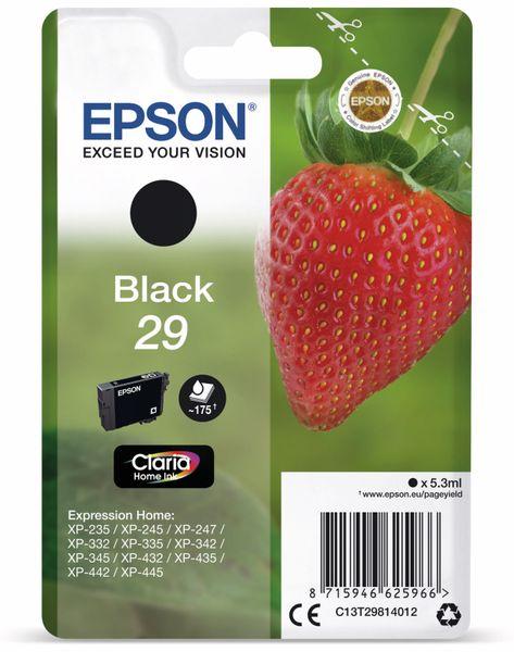 Tintenpatrone EPSON 29, schwarz
