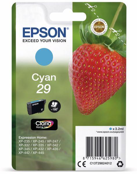 Tintenpatrone EPSON 29, cyan