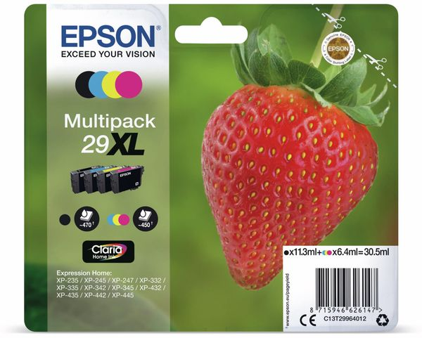 Tinten-Multiset EPSON 29 XL (4er-Set)