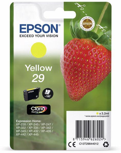 Tintenpatrone EPSON 29, gelb