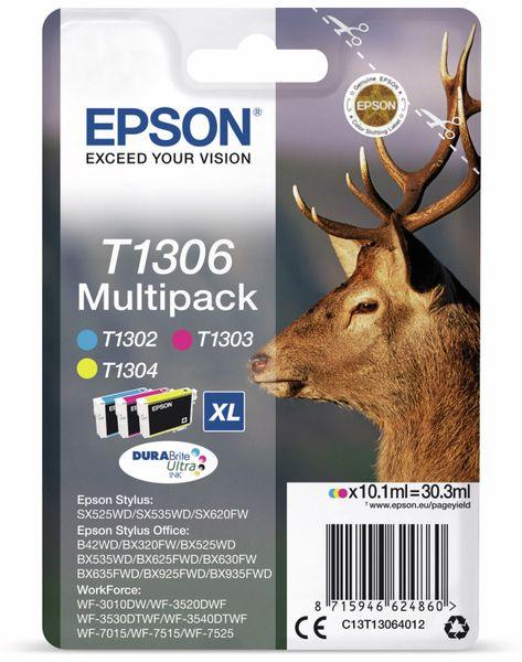 Tinten-Multiset EPSON T1306, (3er-Set)