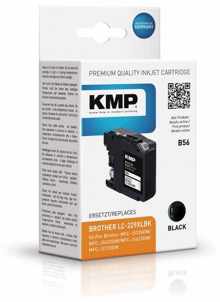 Tintenpatrone KMP B56, kompatibel zu Brother LC229XLBK