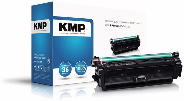 Toner KMP H-T223Y, kompatibel zu HP 508A (CF362A)