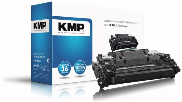 Toner KMP T-224X, kompatibel zu HP 26X (CF226X)
