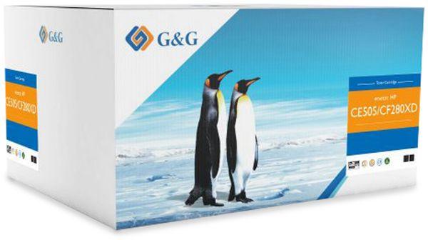Toner G&G, kompatibel zu Canon, Doppelpack, schwarz