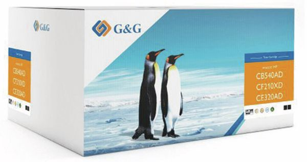 Toner G&G, kompatibel zu HP, Doppelpack, schwarz