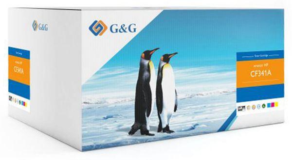 Toner G&G, kompatibel zu HP, Multipack, color
