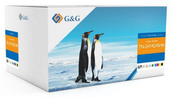 Toner G&G, kompatibel zu Brother, Multipack, color + schwarz