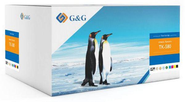 Toner G&G, kompatibel zu Kyocera, Multipack color + schwarz