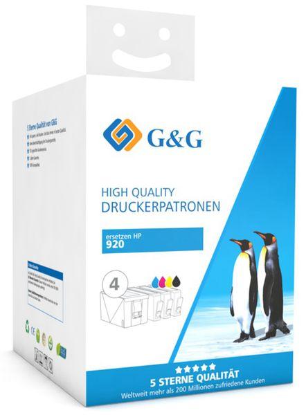 Tinten-Multipack G&G, color + schwarz