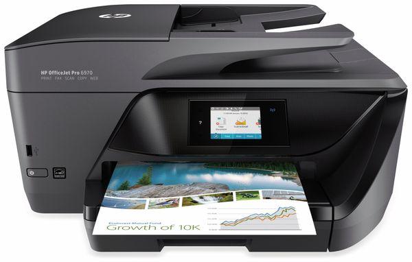 Tintenstrahldrucker HP OfficeJet Pro 6970, schwarz