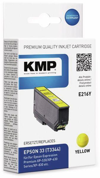 Tintenpatrone KMP E216Y, gelb